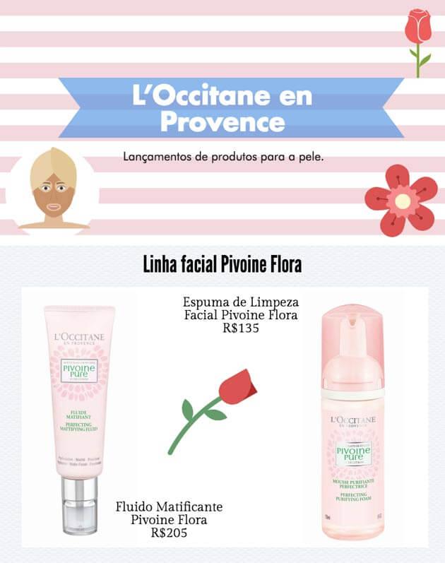 Lançamentos - Abril 2017 - produtos loccitane produtos para cuidados faciais