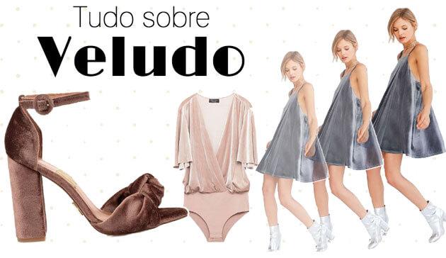 Tudo sobre veludo 2017 vestido de veludo molhado calçado de veludo onde comprar veludo como usar veludo