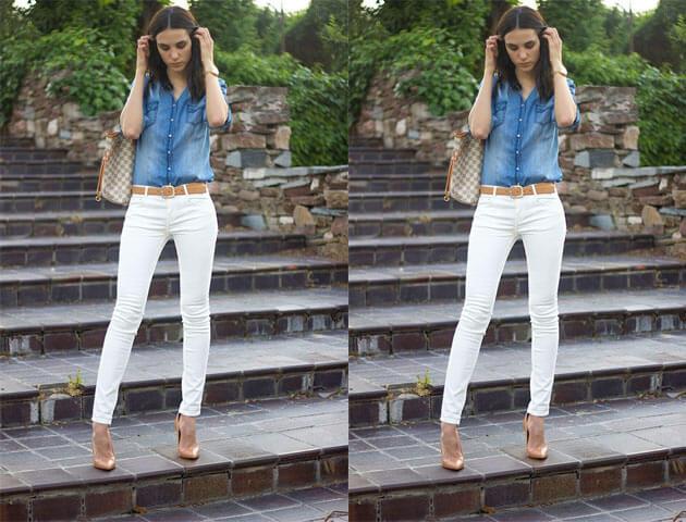 Looks com camisa jeans - como usar