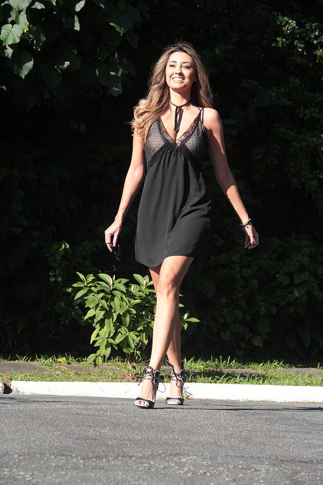 Look do dia Slip Dress Amaro