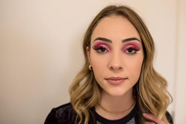 Maquiagem Selena Gomez MET 2017 maquiagem rosa