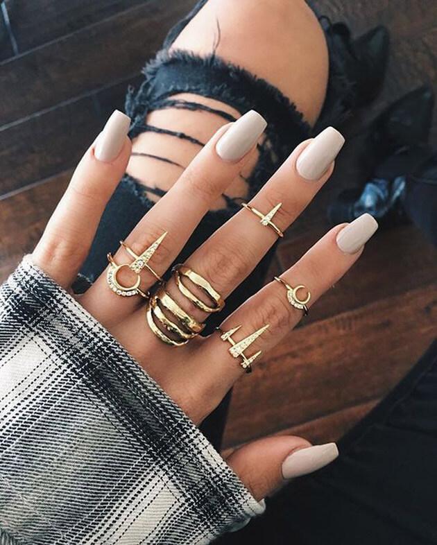 As unhas mais pinadas no Pinterest