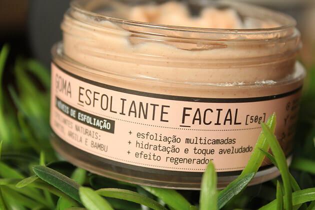 Goma esfoliante Facial - Quintal Cosméticos