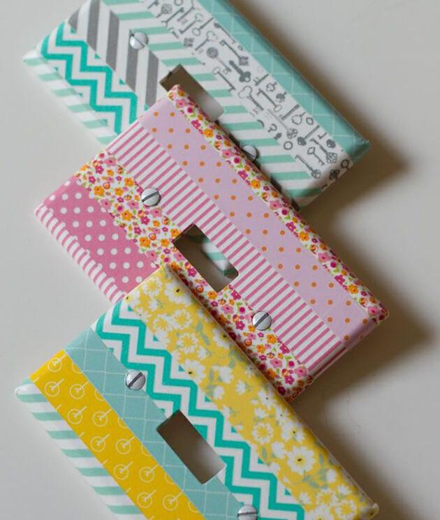 Diferentes formas de usar fita Washi Tape