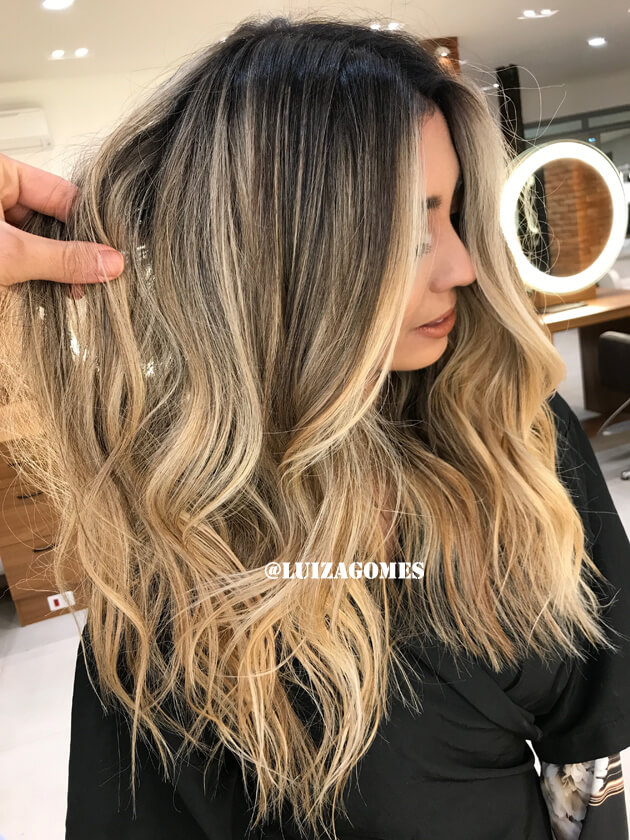 Loiro Açúcar Mascavo tendência cabelo loiro inverno romeu felipe loiro romeu felipe luiza gomes cabelo cor de cabelo luiza gomes