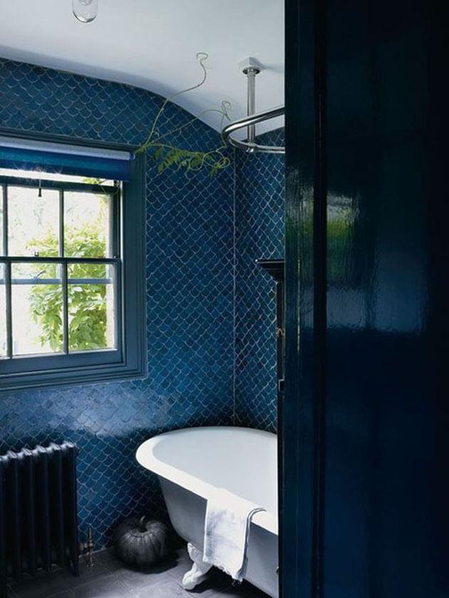 Azul marinho na decoração