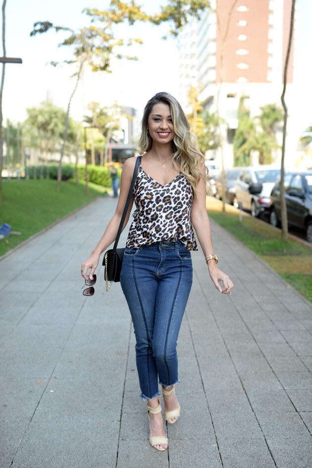 Look Jeans e oncinha