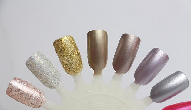 Coleção Risqué Efeitos - Metalizados e Glitters