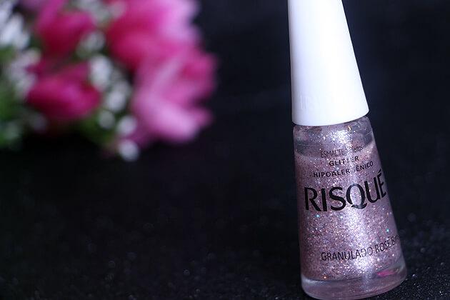 Esmalte Granulado Rosé Risqué