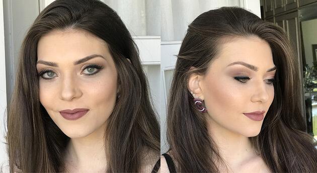 Maquiagem leve e linda