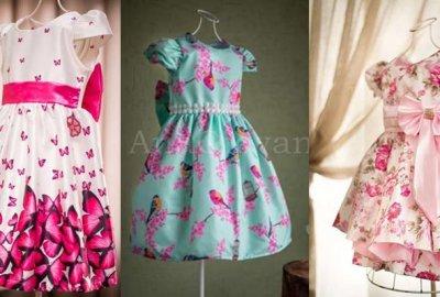 Presente para meninas vestido de festa infantil vestido menina roupa online