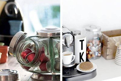 Cantinho para o café e mini bar - veja muitas dicas e idéias para decorar a sua casa! O cantinho do café vai ficar ainda mais bonito e especial.