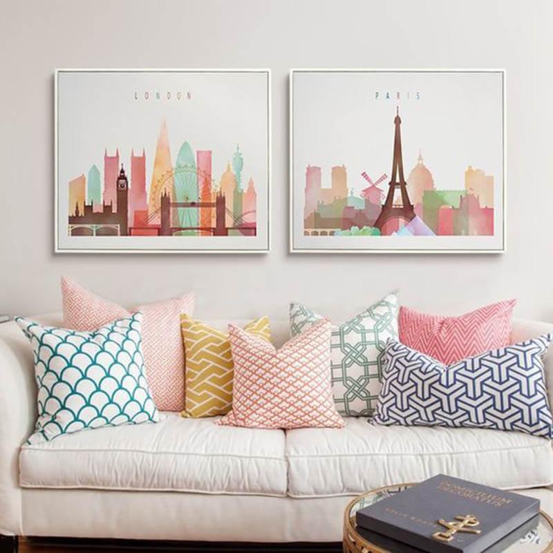 Ambientes decorados com candy colors decoraçao como decorar dicas de decorar como decorar