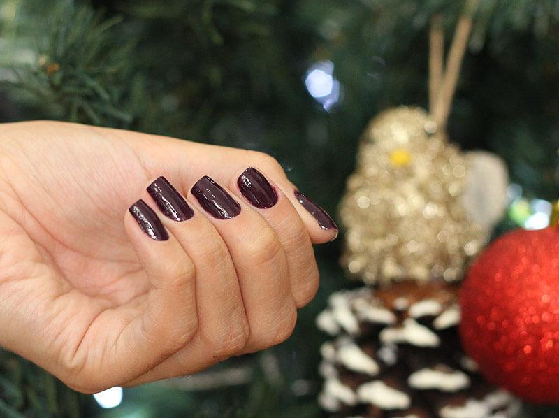 Esmalte Vinho Mania Color Trend Avon