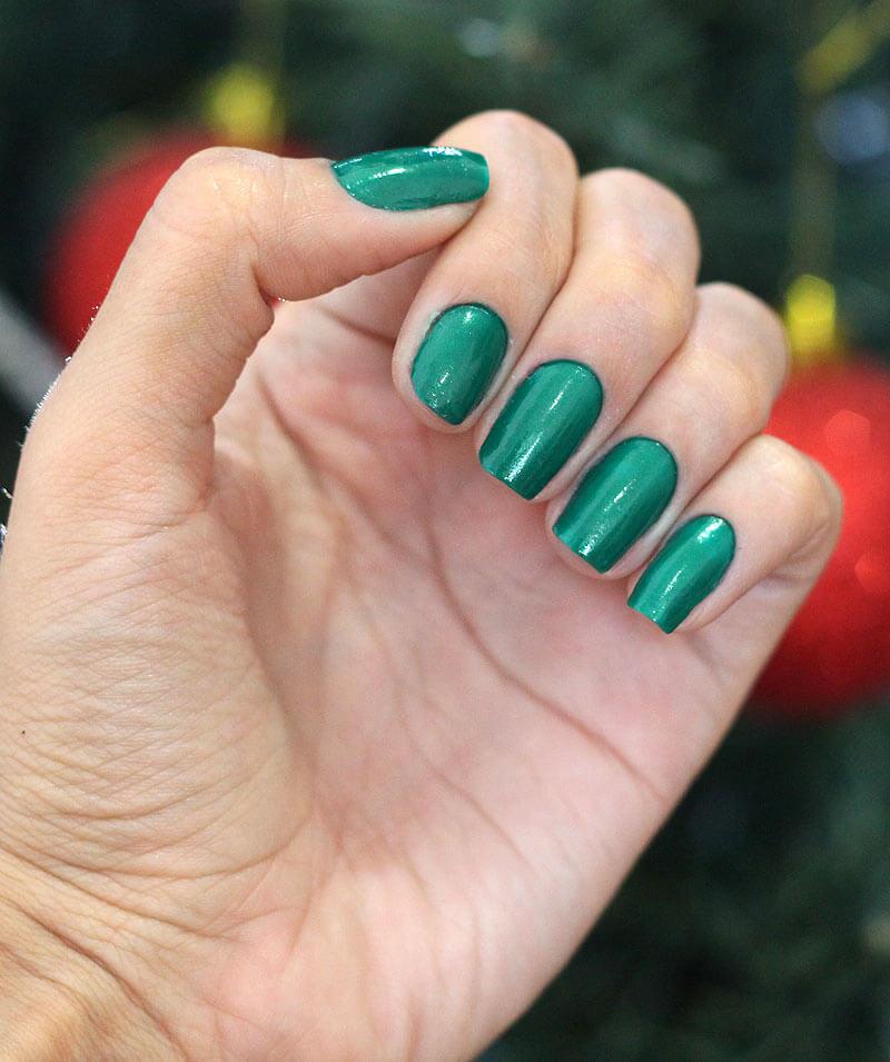 Esmalte Verde Beija Flor Perolado - Anita