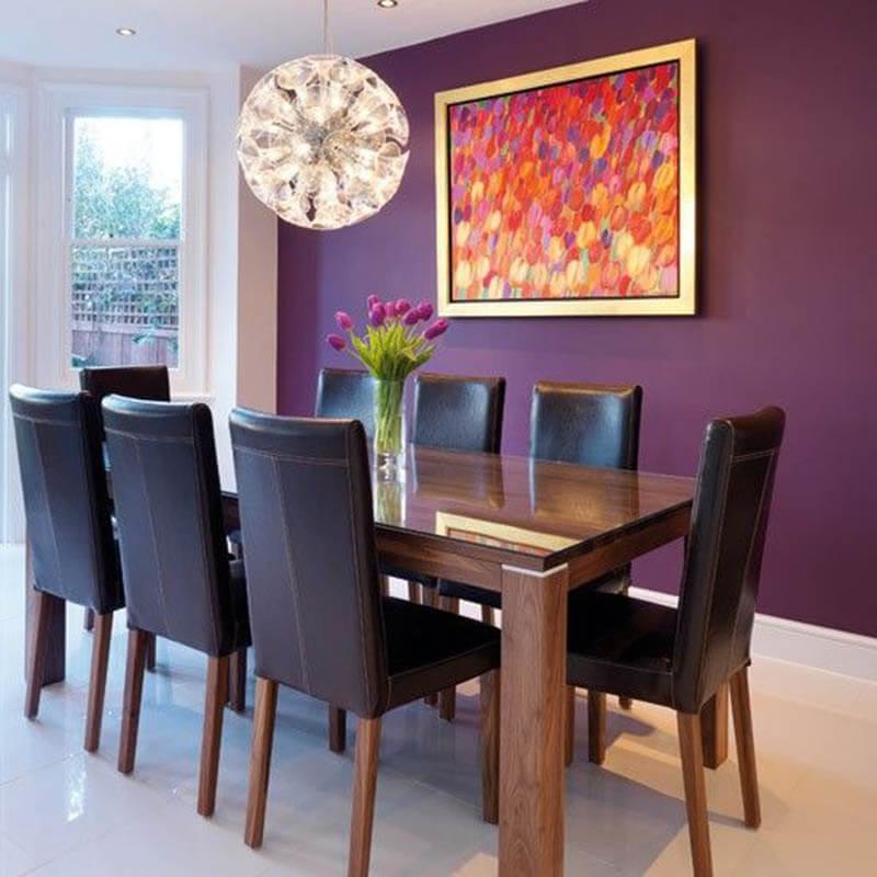 Como usar a cor Ultra Violet (Pantone 2018) na decoração