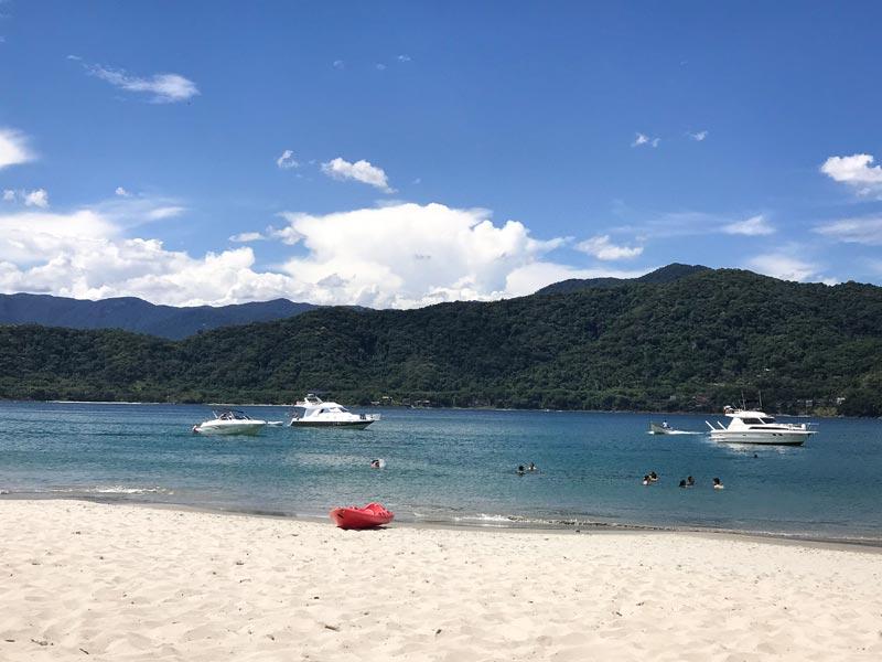 Passeios de verão - As Ilhas - São Sebastião