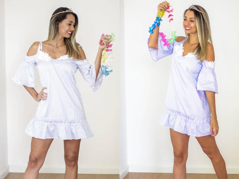 Looks para o carnaval 2018 - veja minhas 3 opções de looks reais para quem vai curtir o carnaval, mas não quer investir em fantasia. Looks femininos e confortáveis. CONFIRA.