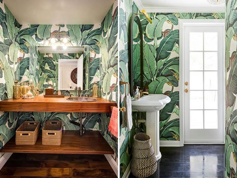 Tendência decoração tropical - idéias, dicas e muitas inspirações para você usar esse estilo de decoração na sua casa! Veja as melhores fotos e arrase na decoração!