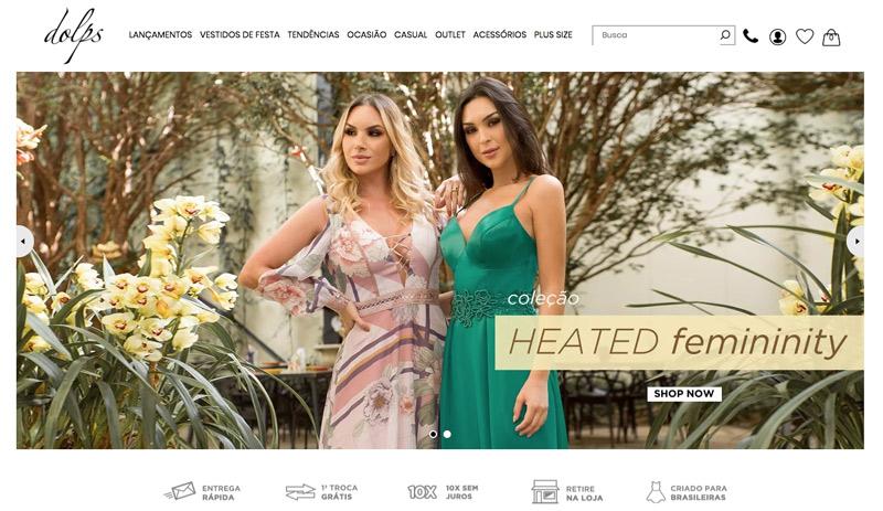 DOLPS VESTIDOS DE FESTA - COMPRAR ONLINE - o melhor site para comprar vestidos de festa! Vestidos para madrinhas, formandas e convidadas. Modelos longos, curtos estampados, os melhores preços.