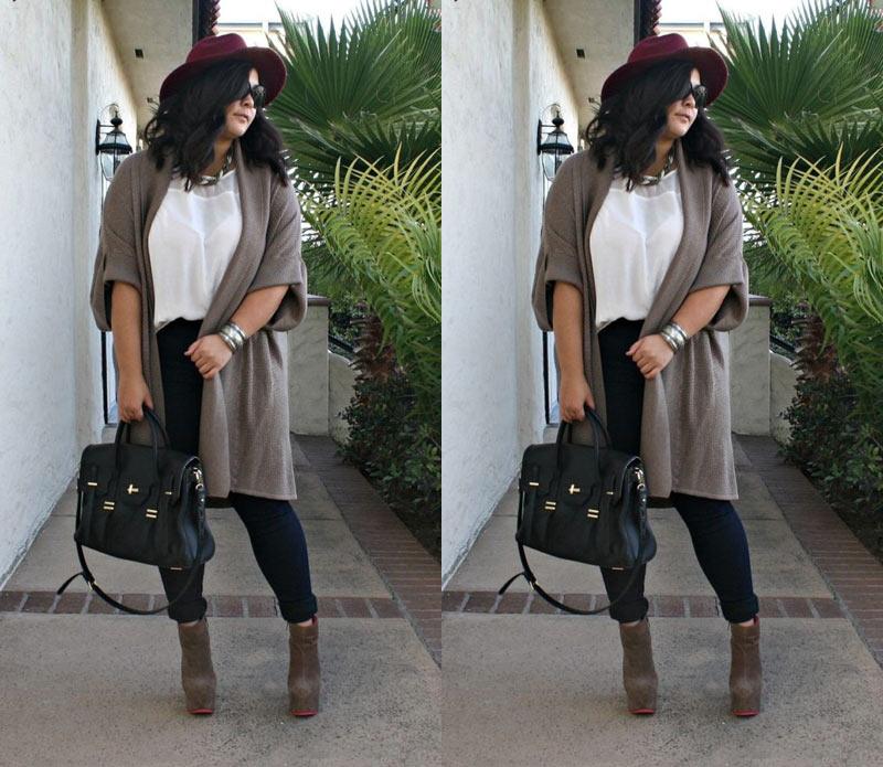 LOOK PLUS SIZE OUTONO INVERNO 2019 - neste post você irá encontrar uma seleção de look tenência outono inverno 2019 - dicas de looks, inspirações e combinações perfeitas.