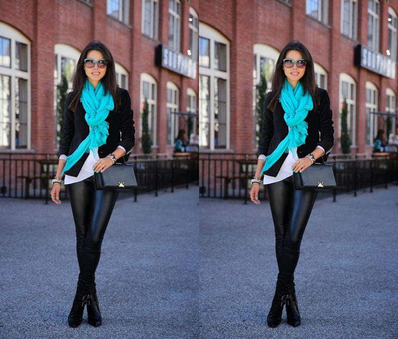 COMO USAR LENÇO - as melhores dicas e inspirações para você usar e arrasar com os lenços e echarpes! O toque de sofisticação para o look de inverno.