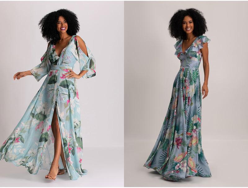 VESTIDO DE FESTA NO CAMPO - QUAL MODELO ESCOLHER? - veja neste post diversas sugestões de vestidos de festa que ficam perfeitos para festa no campo! Veja onde comprar.