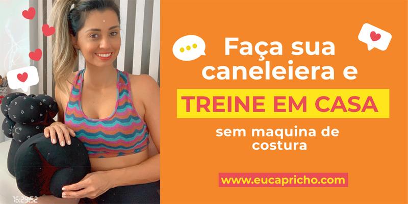 CANELEIRA CASEIRA - FEITA EM CASA - aprenda a fazer de forma fácil caneleiras/tornozeleiras para treinar pernas em casa. FÁCIL E BARATO.