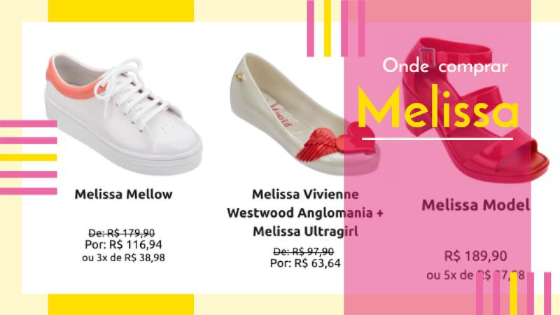 Melissa Lançamento 2020 - você é apaixonada por Melissa? Então, veja aqui o melhor lugar para comprar e com os melhores descontos e formas de pagamento.
