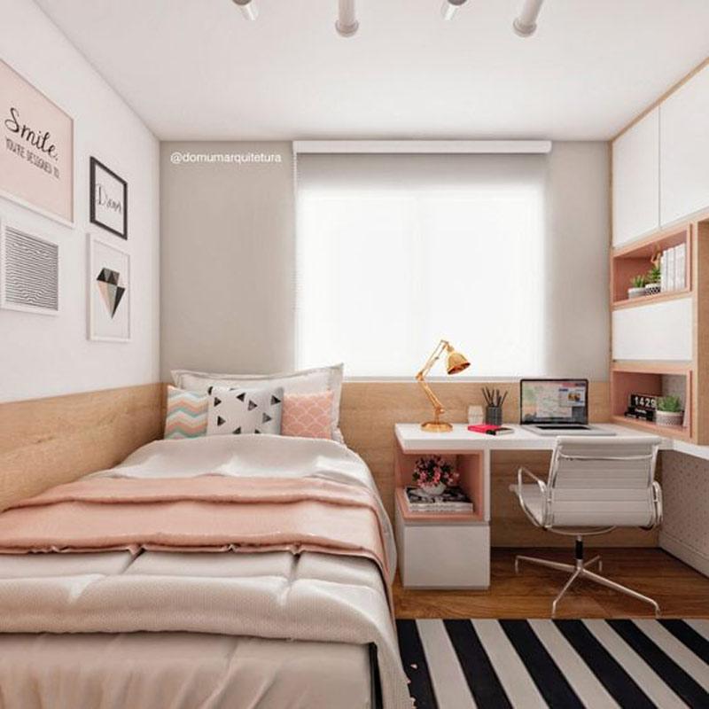 DECORAÇÃO QUARTO (PEQUENO FEMININO) - as melhores dicas e inspirações para você dar um UP no quarto mesmo sendo pequeno, veja como otimizar e deixá-lo lindo