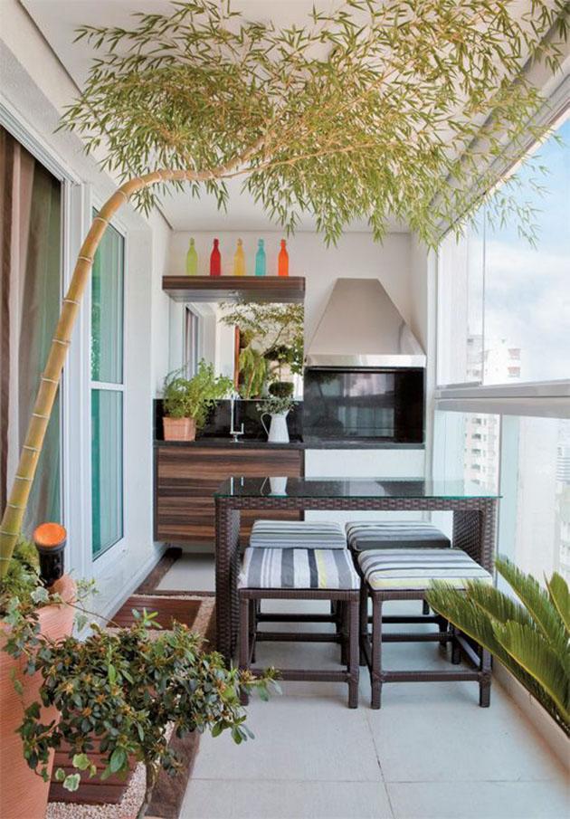 jardim vertical terraco:Como decorar: Varanda gourmet – Eu Capricho