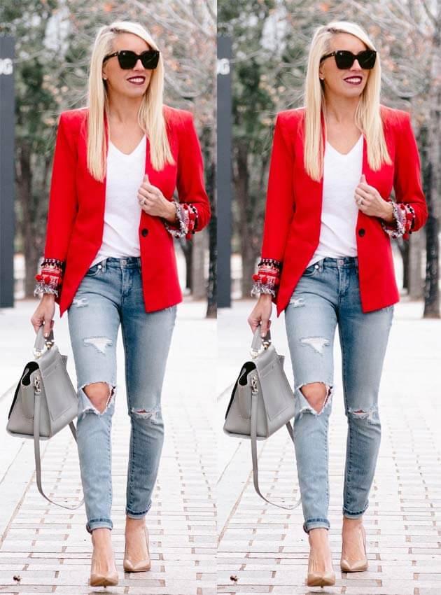 como usar blazer preto looks com blazer blazer zara blazer rosa blazer ...