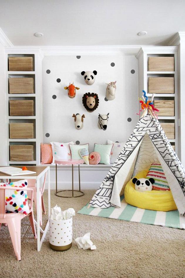 Decora o de quarto de crian a com tema floresta eu capricho for Functional family room ideas