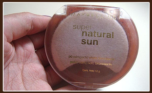 bronze1 Testei   Super Natural Sun   Maybelline