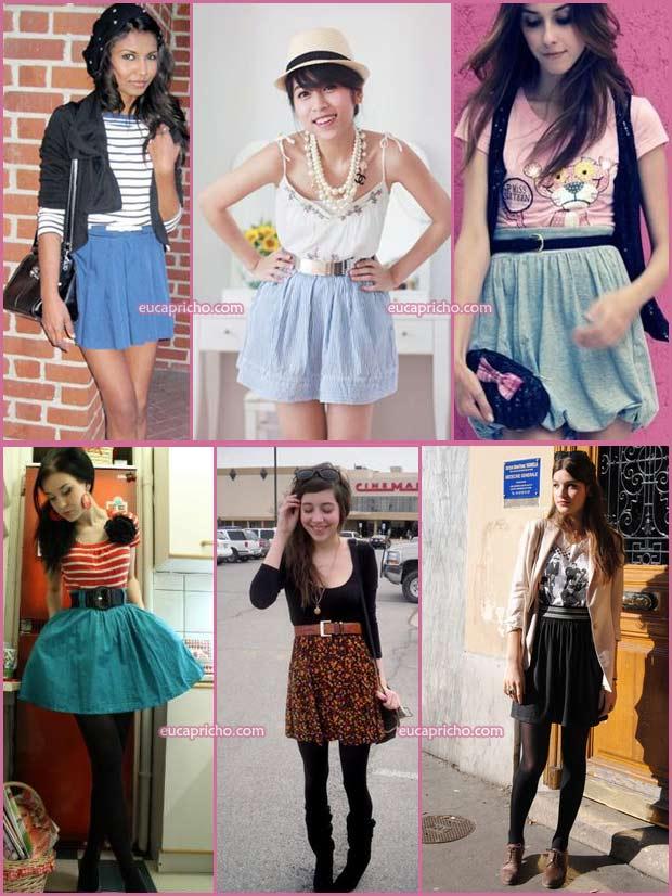 Loucas por Saia de cintura alta modelos e looks para usar onde comprar