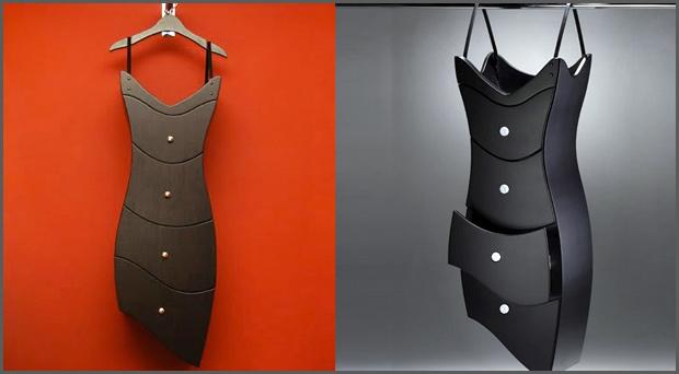 comoda Cômoda em formato de vestido