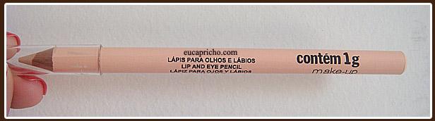 contem1 Testei – Lápis para Olhos e Lábios – Contém 1G
