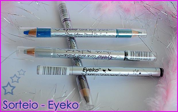eyeko s Sorteio   Kit Eyeko