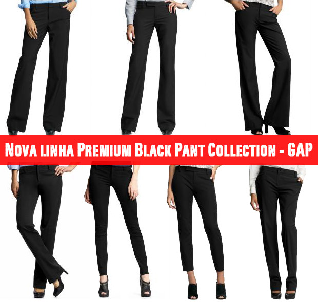 gap2 Premium Black Pant Collection   GAP