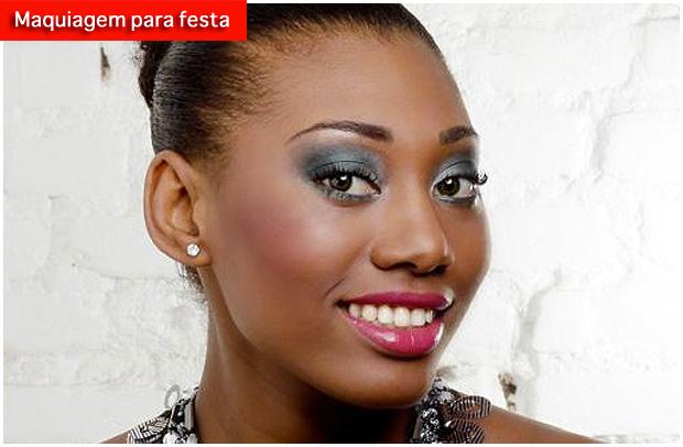 maquiagemfesta1 Maquiagem de festa especial para pele negra