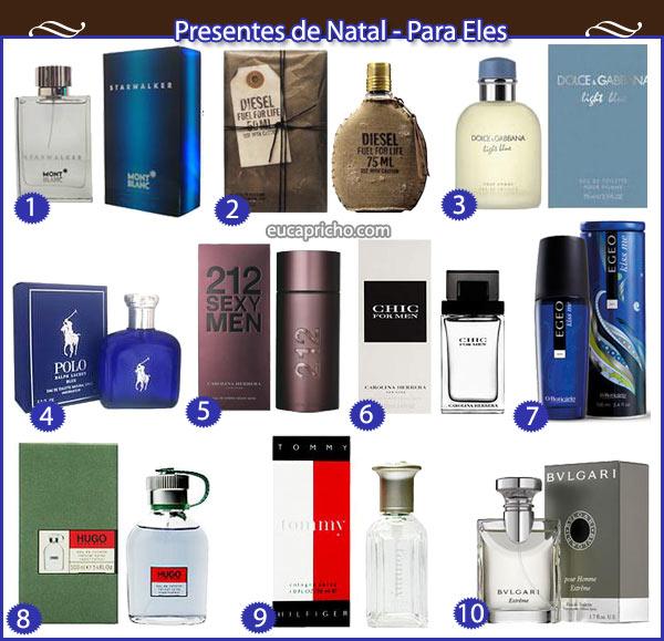 Presentes de Natal - Perfumes Masculinos - Luiza Gomes 65a1d60245401