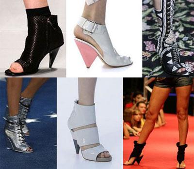 sandalia bota Ta na moda!