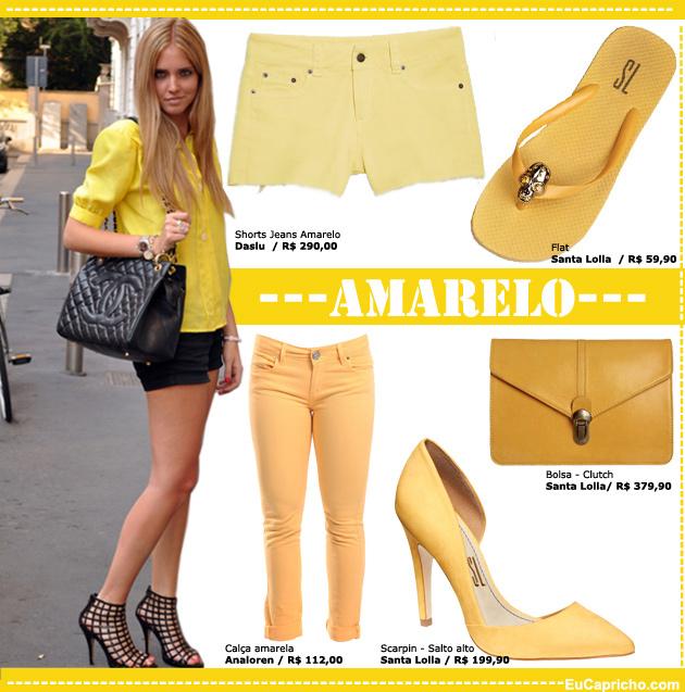 amarelo2 Como usar: Amarelo