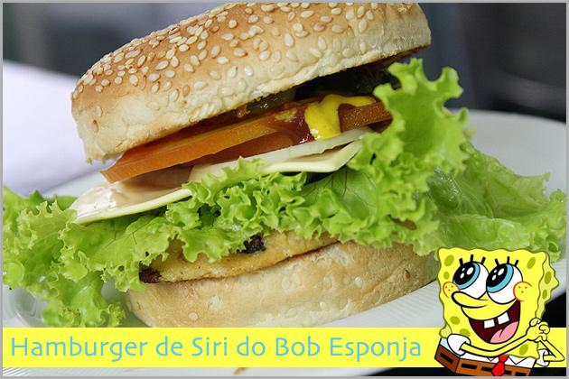 bob Hamburger de Siri do Bob Esponja
