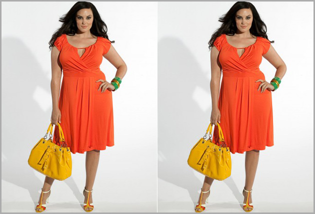 laranja a cor tendência