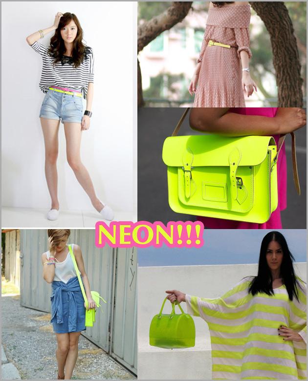 neonace Moda e seus contrastes