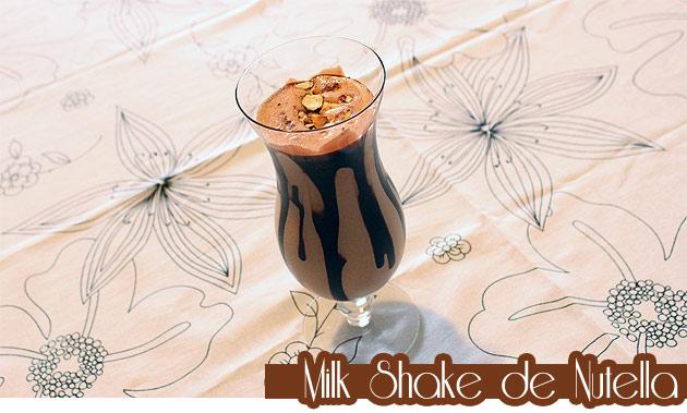 nutela Milk Shake de Nutella