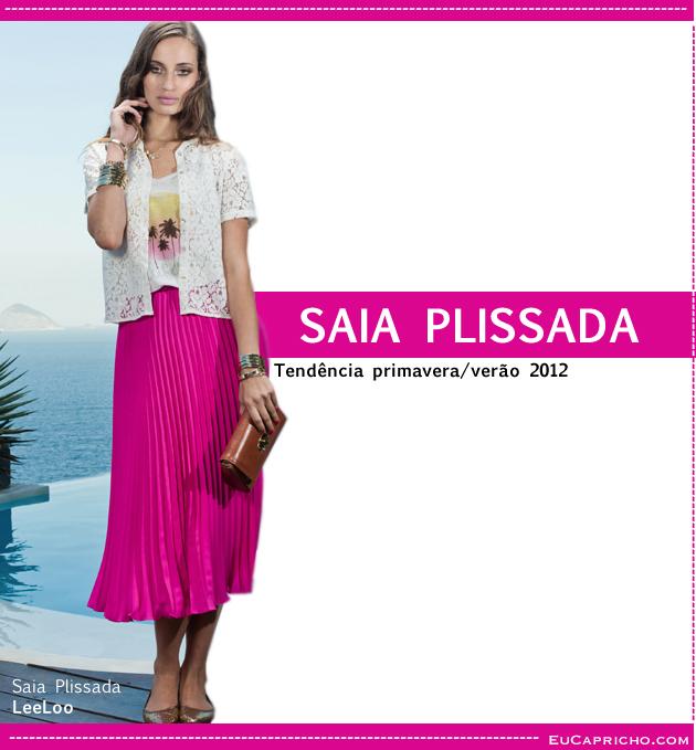 plissada1(3) Como usar: Saia Plissada