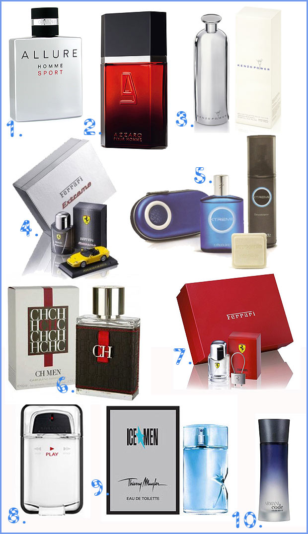 top10masculino Perfumes Masculinos   TOP 10 de Natal