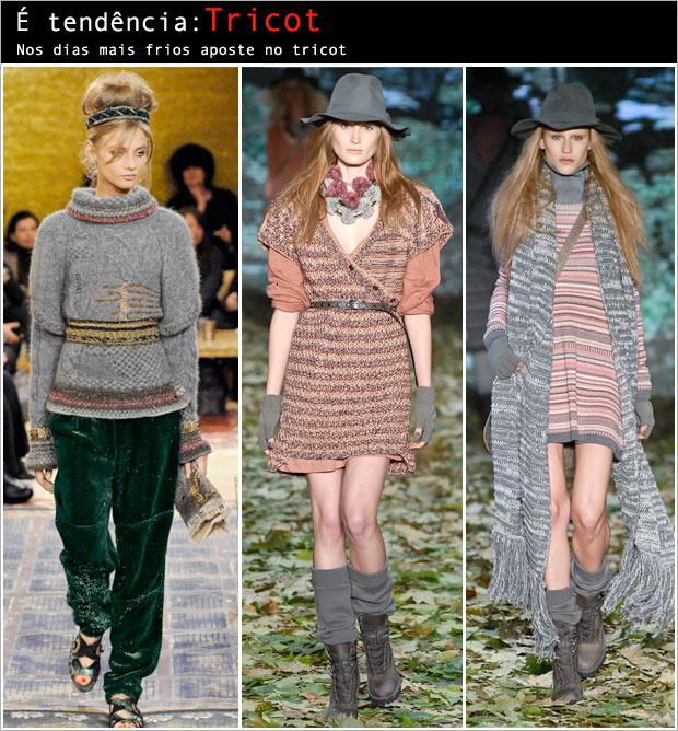 tricot Tendência em Tricot